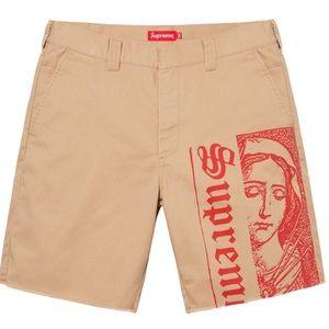 Supreme Mary work shorts 🩳 Khakis